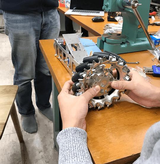 第1弾実機組み立て会開催!いよいよ歩兵ロボットの機体を制作します!
