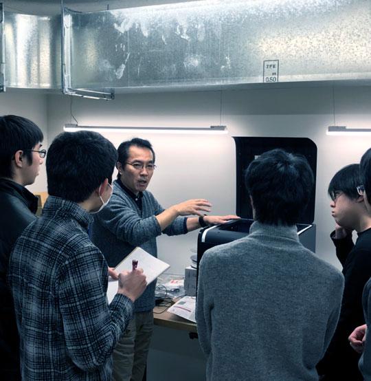 フィールドジオラマ制作へ!FUKUOKA NIWAKAで3Dプリンターの講習会を実施!